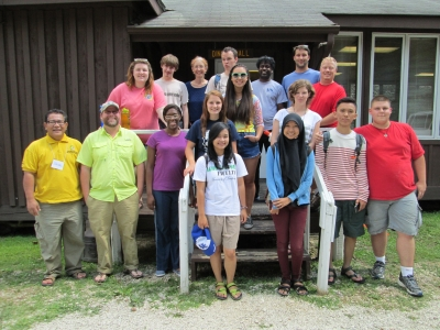 Participants at the water justice summit included students from the University of Kentucky and area high schools.