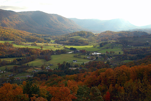 Valley in Appalachia
